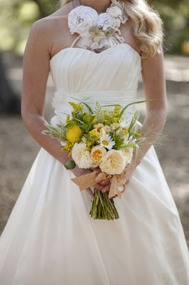 Yellow And Cream Rustic Wedding Ideas