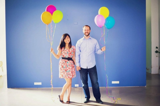 Balloon Engagement Bishop Arts Dallas