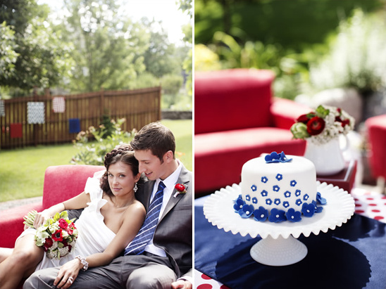 Americana Backyard Wedding Ideas