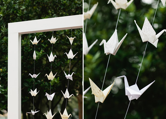Origami Crane Wedding Ideas