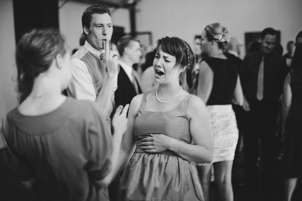 Modern Music And Literature Inspired Wedding
