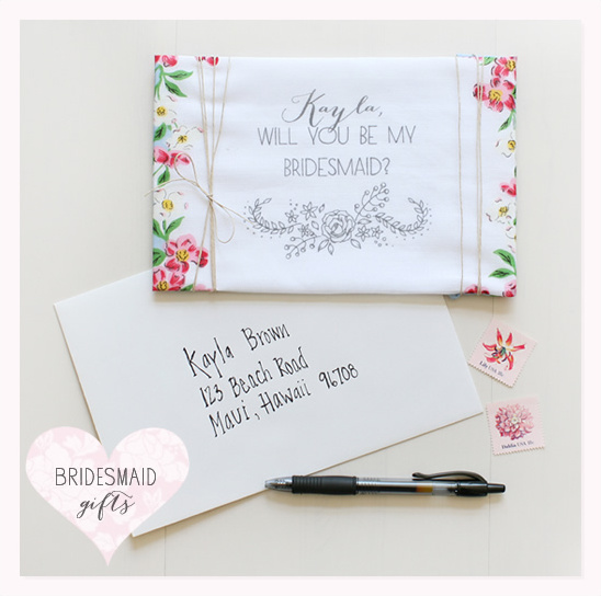 Personalized Hankies Make Unique Bridesmaid Gifts