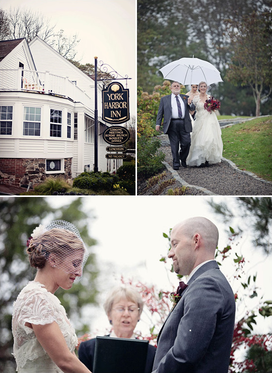 York, Maine Vintage Inspired Wedding