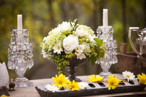 Boho Chic styled table