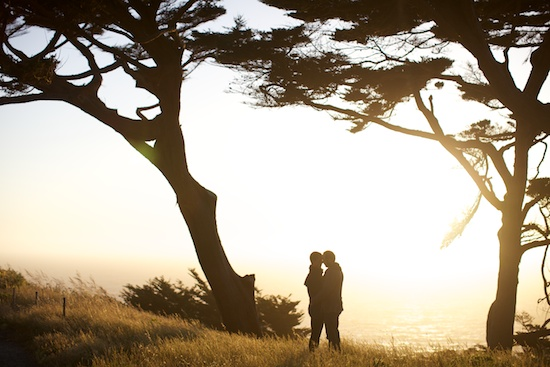 San Francisco Lands End Engagement Photography