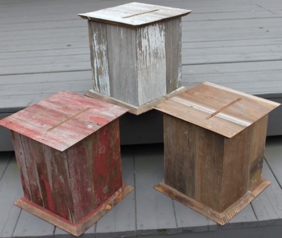 Rustic Wedding Card Boxes