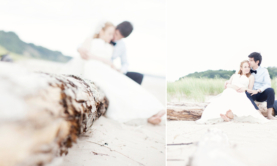 Vintage Nautical Wedding on Lake Michigan