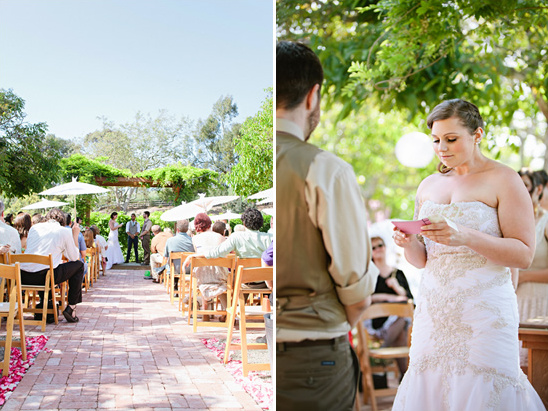Romantic And Elegant Garden Wedding