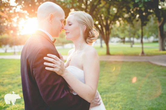 Sunset Wedding in Austin