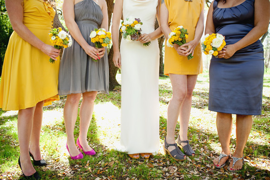 austin wedding photographer, Mercury Hall wedding, bridesmaids, wedding colors