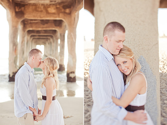 Manhattan Beach Engagement [Dave Richards Photography]