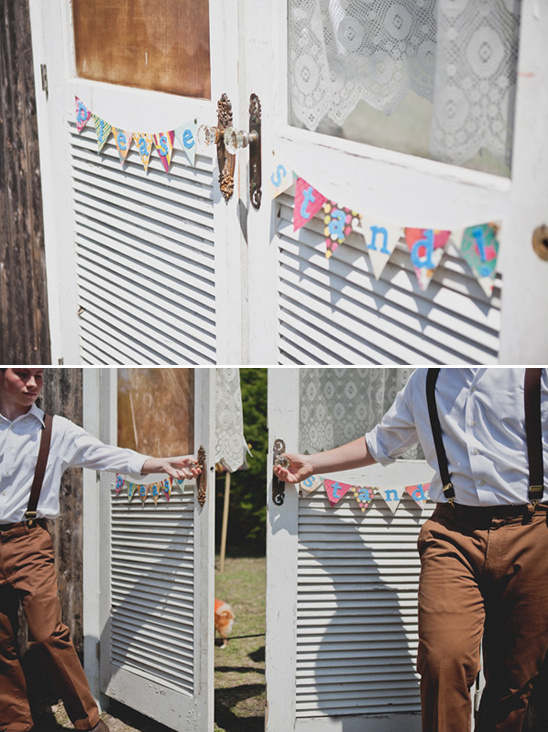 Super Colorful DIY Backyard Wedding Ideas