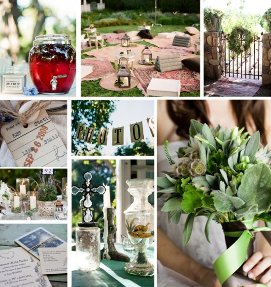 I Do Venues Design Inspiration: Backyard Details