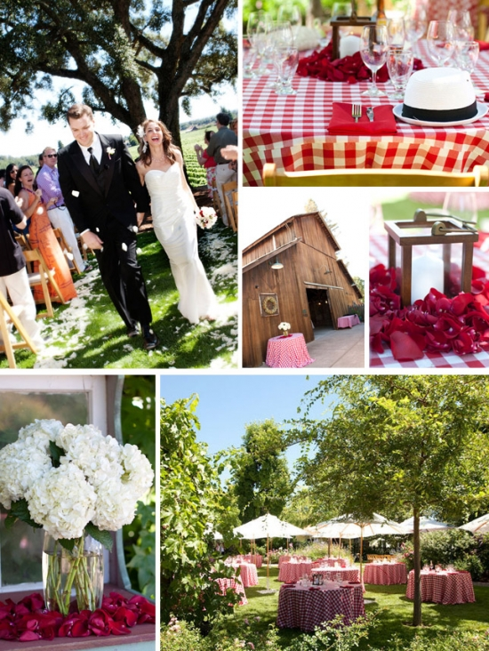 I Do Venues: Healdsburg Country Garden Perfectly Casual and Chic