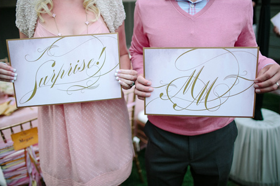 Glamorous Surprise Backyard Bridal Shower