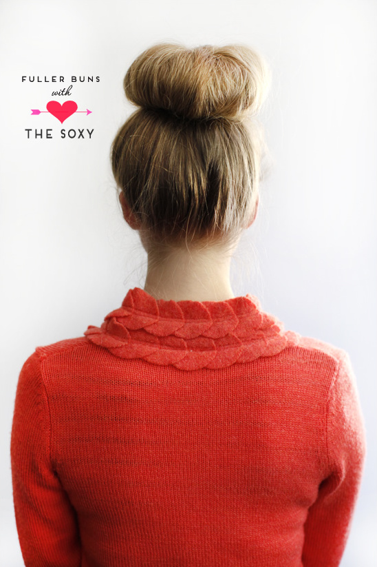 The Ultimate Sock Bun Accessory | The Soxy