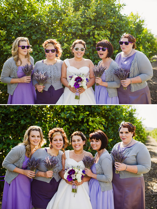 DIY Purple Wedding Inspiration