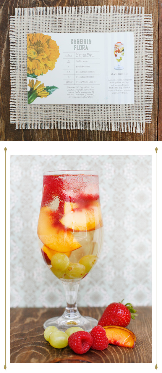 Signature Wedding Drink Ideas By St-Germain