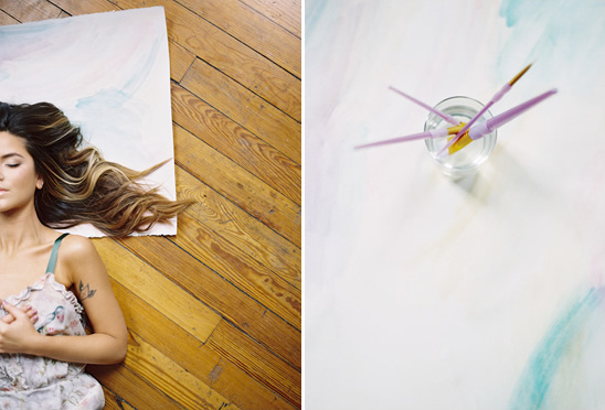 Watercolor Boudoir Session + Our Lingerie Picks
