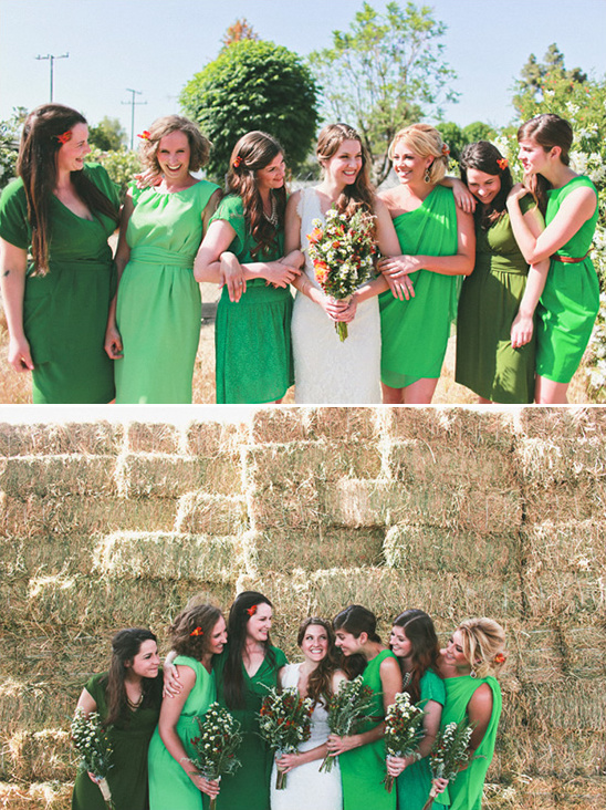 San Diego Hayfield Wedding From Whitney Darling Photography