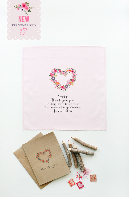 Personalized Gifts | New Blushing Heart Collection