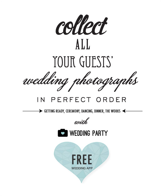 Collect All Your Guests' Photos With The Wedding Party App