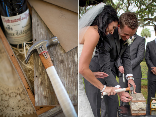 Classic Pink And Gray Fort George Island Wedding