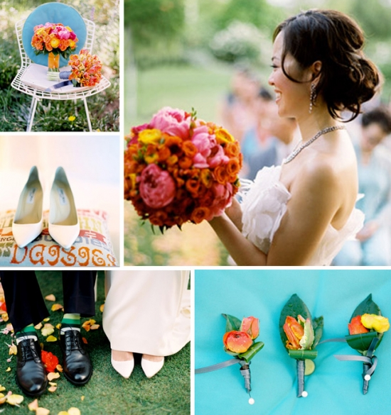 I Do Venues Design Inspiration: Going to a Garden Party