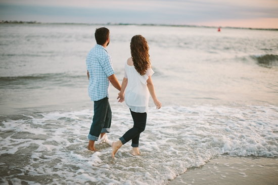 Sea Isle New Jersey Engagement