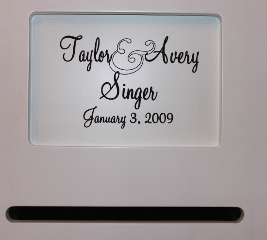Personalized Wedding Card Box For YOU!