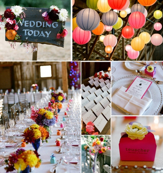 I Do Venues Design Inspiration: Fun and Flirty