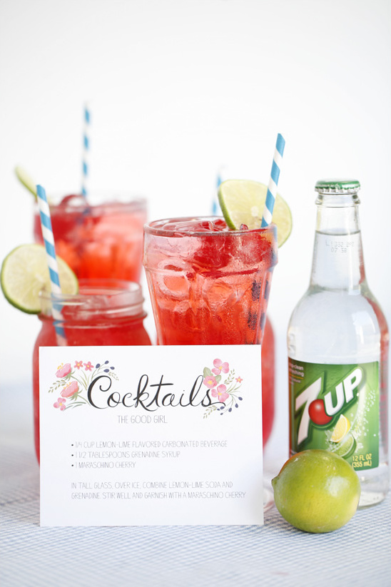 Wedding Cocktail Ideas From Dailys Cocktails + Free Cocktail Recipe Cards
