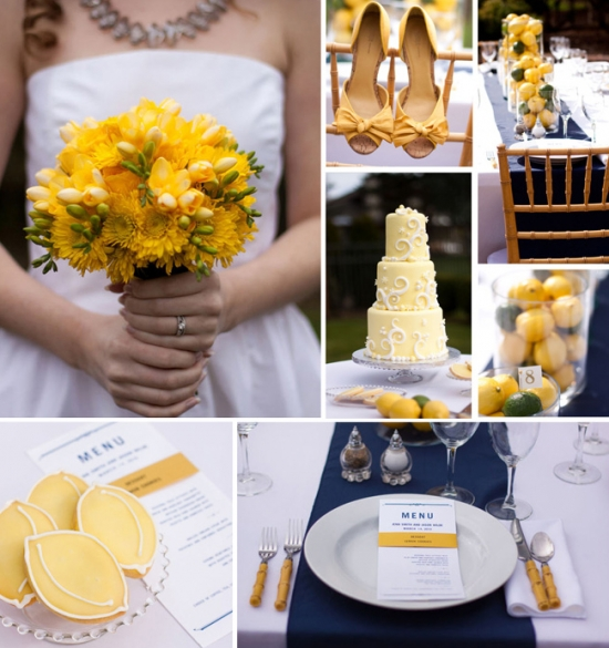I Do Venues Design Inspiration: Mellow Yellow