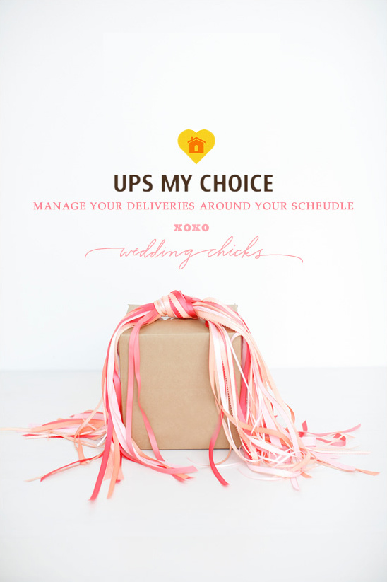 UPS My Choice - Manage Your Wedding Deliveries