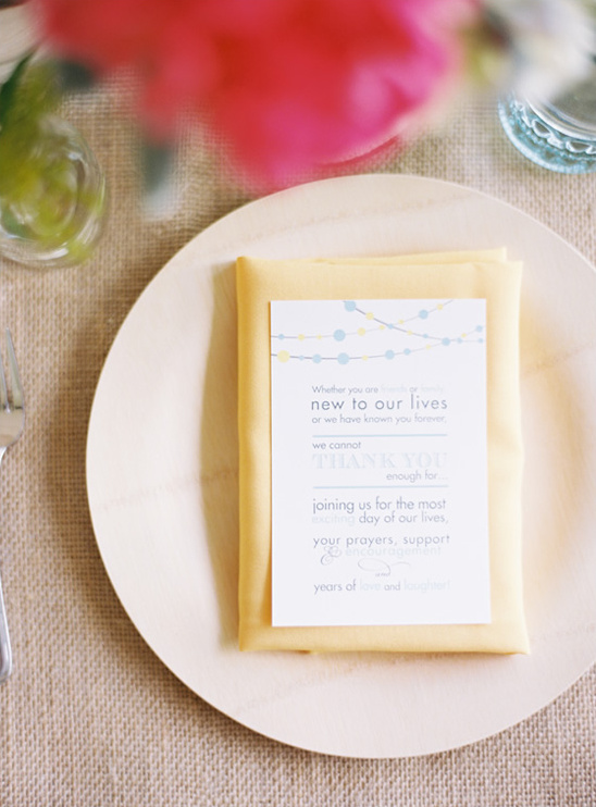Gray and Yellow Garden Wedding
