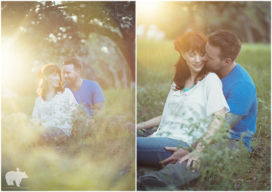 Camping Engagement Session | The Bird & The Bear