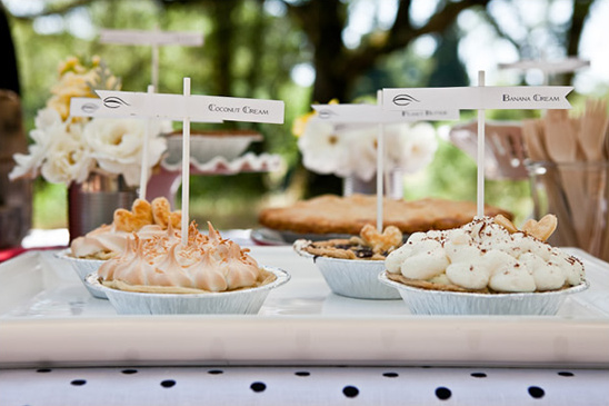 How To Make A Pie Dessert Table