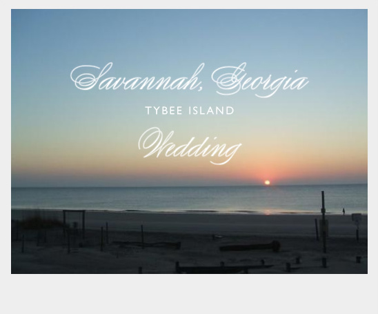 Tybee Island Wedding At Ocean Plaza Resort