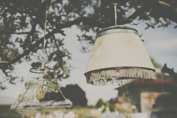 DIY Vintage Glam Backyard Wedding