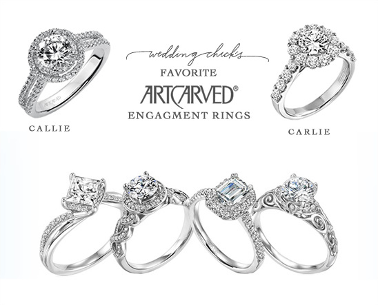 ArtCarved Engagment Rings
