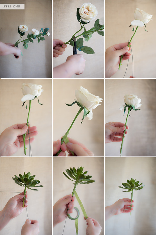 How to make a fake flower bridal bouquet for Flower making at home