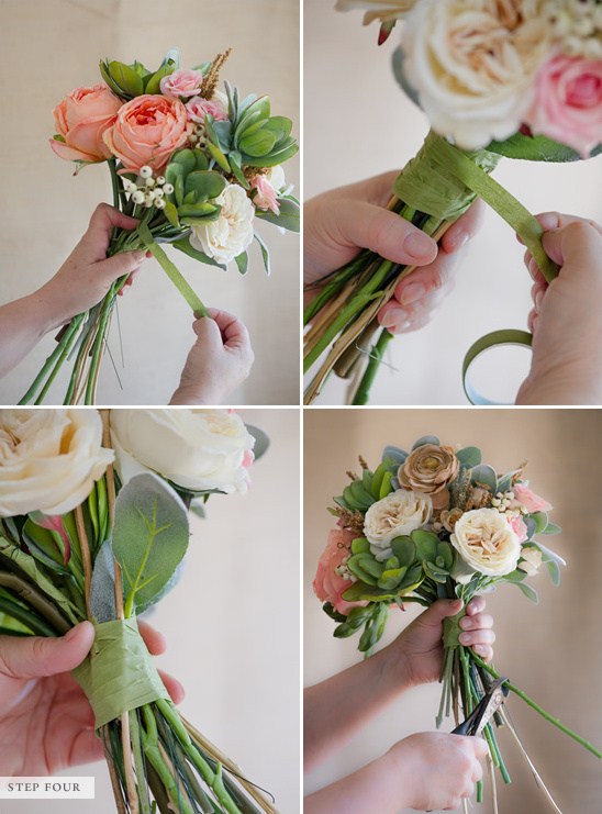 Blog How To Make A Fake Flower Bridal Bouquet