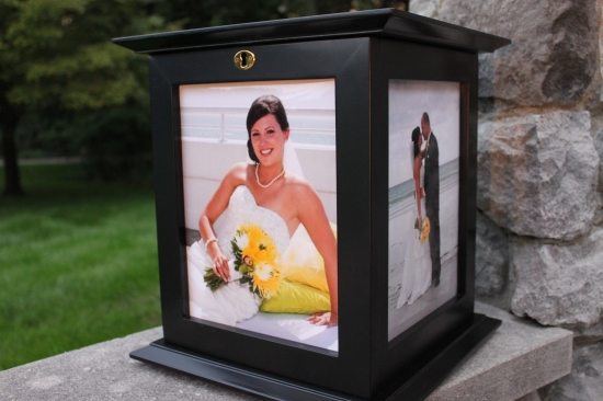 Black Wedding Card Box