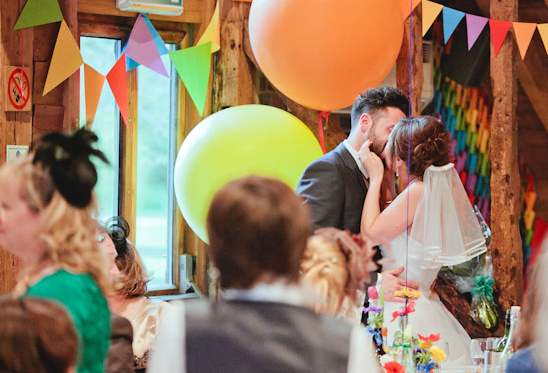 A Rainbow Wedding From England