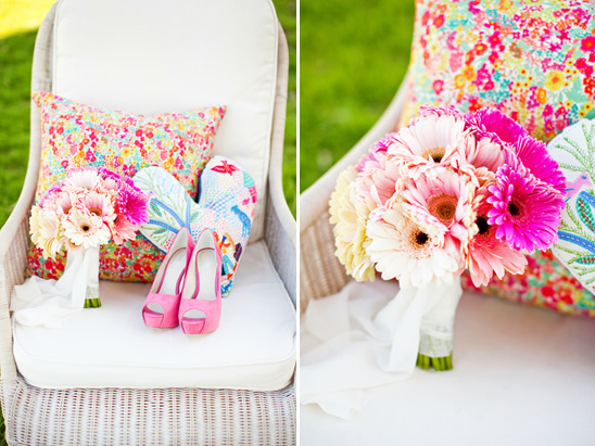 Simple And Colorful Garden Wedding Ideas