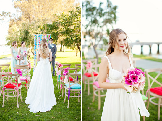 Simple Wedding Dresses Perth: Simple And Colorful Garden Wedding Ideas