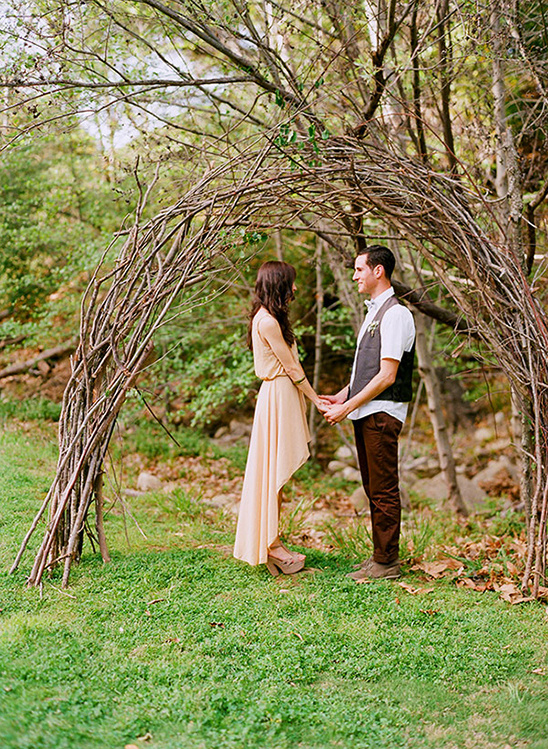 Small And Intimate Park Wedding