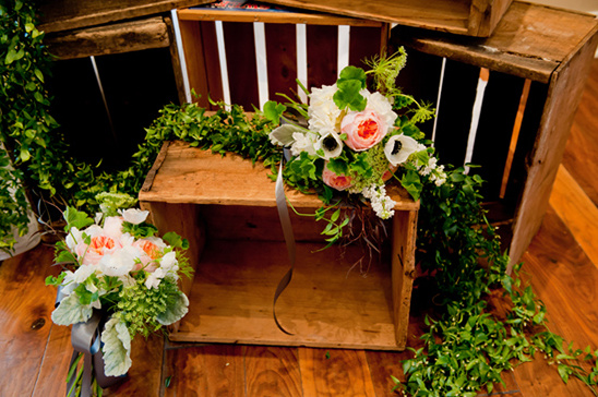 Vintage Garden Peach Wedding Ideas