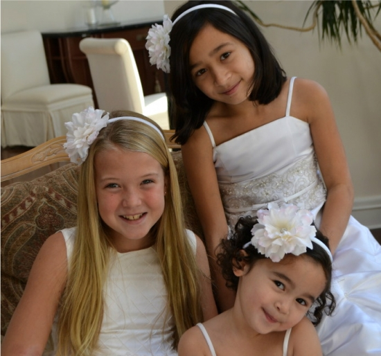 Flower Girls Wedding Hair Accessories