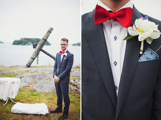 Stockholm Nautical Wedding